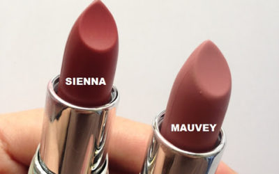 Ever Bilena Matte Lipsticks in Mauvey and Sienna Review