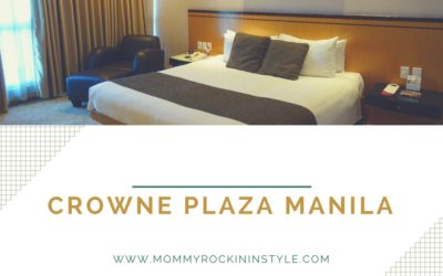 Family Staycation at Crowne Plaza Manila Galleria