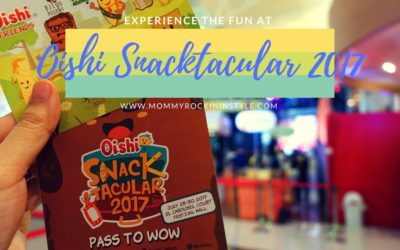 Eats More Than Just a Snack at Oishi Snacktacular 2017