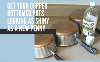Get Your Copper Bottomed Pots Looking As Shiny As A New Penny