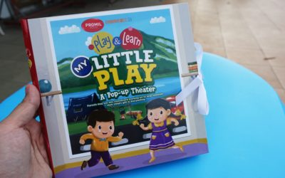 Nurture Your Child's Gift with My Little Play A Pop-Up Theater