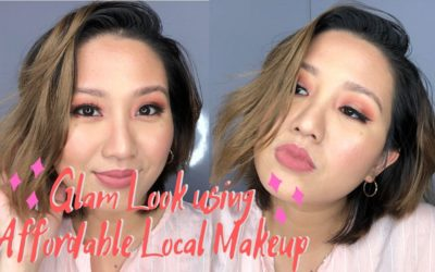 Glam Look using Affordable Makeup [EB Advance, Vice Cosmetics, Sace Lady]