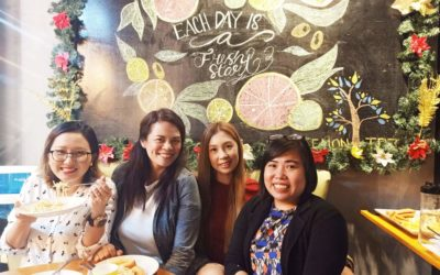 Metro Moms PH Spa Party 2019 at Lemon Tree Salon and Cafe, Tomas Morato QC