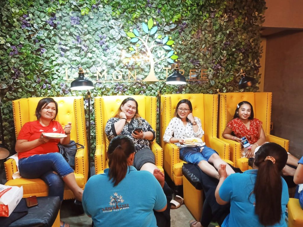 lemon tree salon and cafe tomas morato qc mommy rockin in style mommy blogger philippines beauty blogger philippines
