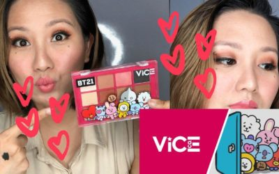 Vice Cosmetics x BT21 Universe Eyeshadow Palette Review