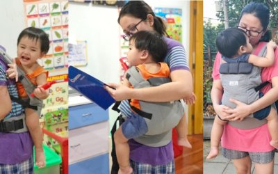 Make Every Day Better with Little Zen Soft Baby Carrier