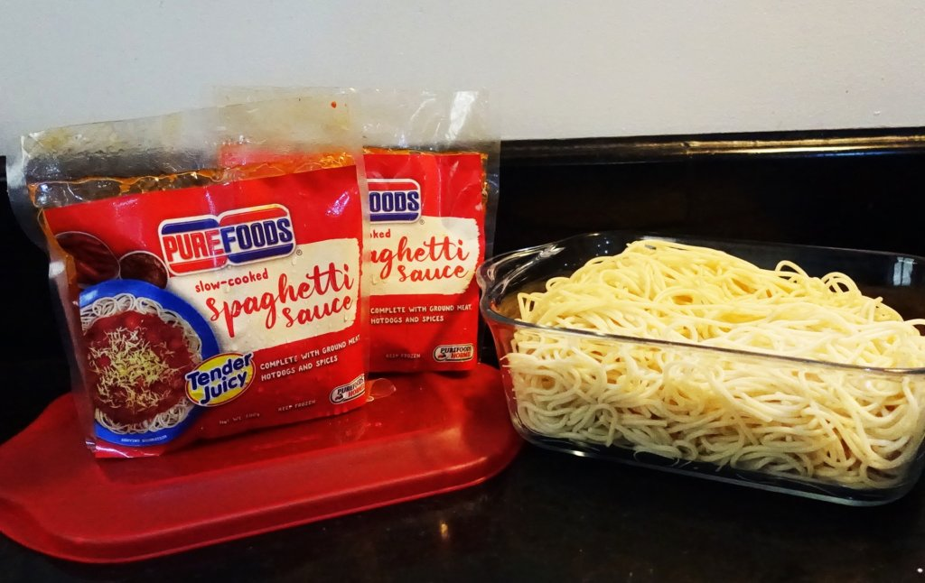 easy cooked meal spaghetti