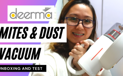 Deerma UV Mites Removal Vacuum Cleaner CM1900 [Unboxing + Test]